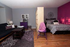 Studio Apartment Room Dividers Design Ideas, Pictures, Remodel, and Decor