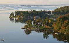1000 Islands district in Canada Saint Lawrence River, Us Islands, Thousand Islands, The Province, Small Island, Nova Scotia, Beautiful Places, Coast, Canada