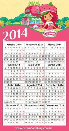 CALENDÁRIOS 2014 GRÁTIS PARA BAIXAR - Cantinho do blog Layouts e Templates para Blogger