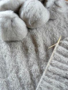 Gray Knitting