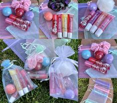 Accessoires Lps, Diy Gifts To Sell, Scrunchies, Diy Lip Gloss, Kawaii, Free Gifts, Party Favors, The Balm, Birthday Gifts