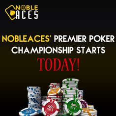 Nobleaces India is one of the best rising poker destinations and has officially made extraordinary progress in giving its clients an energizing poker experience give all new poker champianship month/online competitions with enormous prize. so join us at http://www.nobleaces.com/Tournaments.asp