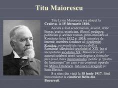 Titu Maiorescu <ul><li>Titu Liviu Maiorescu s-a născut la   Craiova , la  15 februarie 1840.  </li></ul><ul><li>Acesta  a ... 15 Februarie, Image