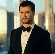 Chris Hemsworth is the new image for Hugo Boss.
