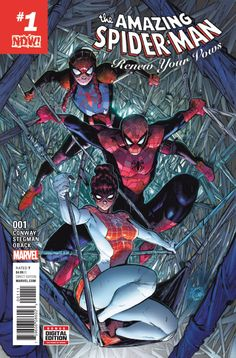 AMAZING SPIDER-MAN RENEW YOUR VOWS #1 NOW (2016)