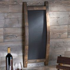 Wine Barrel Project Chalk Board