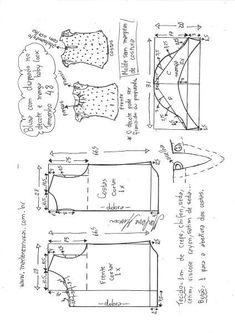 Sin mangas con las mangas | DIY - el moho, el corte y la costura - Marlene Mukai