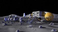 Helium-3: Die Utopie im Weltraum - Durch Kernfusion mit Helium-3 vom Mond und Asteroiden sollen die Energieprobleme auf der Erde gelöst werden. Die Reaktortechnik ist dabei das kleinste Problem.