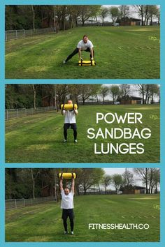 This is a great exercise for toning your upper thigh muscles. By training all upper leg muscle sets inside and outside on your upper legs. Will also firm and tone your buttock and core muscles. Power sandbag lunges are simple, yet effective exercises which will combine both upper and lower body's muscles in the exercise. #fitfam #fitfreaks #core #workouts #gymrat #gym #exercises #sandbag #powerbag #training