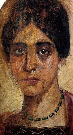 Il ritratto del Fayyum. II secolo. Manchester, Manchester Museum