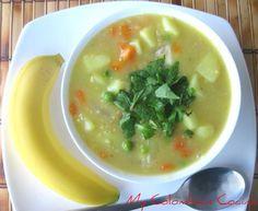 Yumm.....quiero!   Sopa de Avena or Oat's Soup via @my colombian recipes