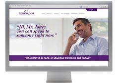 """While Northpoint's numbers speak for themselves, sparking visual interest for the customer was the next step in living out the brand's campaign promise, """"At Northpoint, You Matter."""" Everything from the large callouts that advertise information that is most important to a dealer or manufacturer, to moving text and icons solidifies Northpoint's commitment to the customer. #webdesign #inwardsolutions #marketing #advertising"""