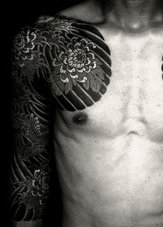 Think I'm going to do my chest with my Japanese sleeve I have