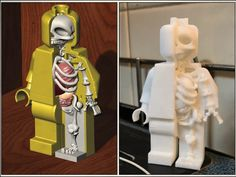 A remix from lego man and skelly Inspiration was from the designer Jason Freeny (who first thought of sculpting toys' anatomy). I will try to draw anatomy of many more fiction characters in the future, maybe ;-)