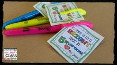 FREE Bright Year tag download for K-6