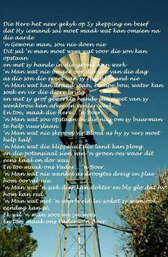 Toe maak die Vader 'n boer Son Quotes, Qoutes, South Afrika, Short Hair Older Women, Afrikaanse Quotes, Angel Prayers, Pallet Painting, Special Words, Praise God