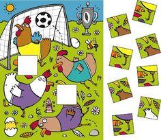 to Euro 2012!                         Benni 06/12: Finde die beiden richtigen Puzzleteile.