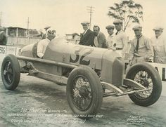 George Souders after winning Indy 500