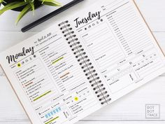 Terrific Pictures day planner printable Suggestions Have you been ready to begin with with printable planner inserts? If you're a new comer to printab Planner A5, Printable Day Planner, Goals Planner, Planner Inserts, Planner Pages, Life Planner, Happy Planner, Planner Ideas, Routine Planner
