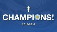 Can't get enough of this sort of thing. Leicester City: Facts & figures behind Premier League title win Leicester City Football, Leicester City Fc, Medical Mnemonics, Champion Logo, English Premier League, Football Memes, Manchester City, Bbc, Soccer