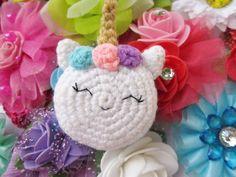 Unicorn macaron amigurumi pattern - A little love everyday!