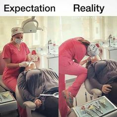 Knowing Dental Hygienist Duties Dental Assistant Humor, Dental Hygiene School, Dental Life, Dental Health, Dental Hygienist, Nurse Humor, Dental Humour, Oral Health, Dentist Jokes