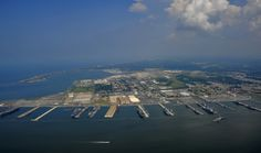 What it might take to protect the world's biggest naval base from rising seas | Public Radio International
