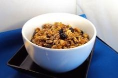 Low-Carb Granola - Photo © Laura Dolson Substitute Stevia etc for maple syrup