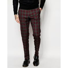 """See this and similar ASOS men's dress pants - """"""""Trousers by ASOS, Soft-touch, woven fabric, Contains stretch for comfort, Zip fly, Side pockets and two back poc..."""