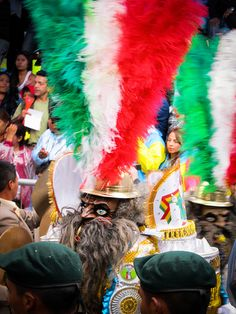 One of the amazing masks found at the second largest Carnaval celebration in South America: Oruro, Bolivia