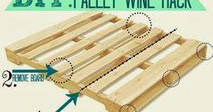 Orchard Girls: DIY: Pallet Wine Rack