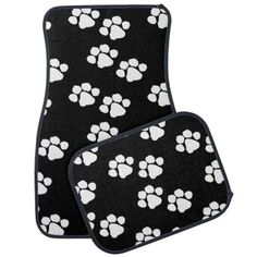 Pets Paw Prints Floor Mat