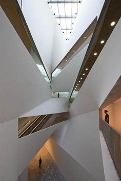 """the Herta and Paul Amir Building"" in Tel Aviv, Israel byPreston Scott Cohen"
