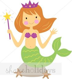 free clip art mermaid | Mermaid Clipart | Party Clipart & Backgrounds