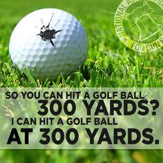 Hittin' golf balls. #nagr #guns #humor Wisdom Meme, Zombie Plan, Patriotic Words, Gun Humor, Dead Hand, Shooting Sports, Thing 1, Dont Tread On Me, News Games