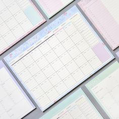 Lovely Floral Monthly Paper Pad 20 Sheets 21*28.5cm DIY Monthly Planner Desk Agenda Gift School Office Supplies Free Shipping-in Notebooks from Office & School Supplies on Aliexpress.com | Alibaba Group