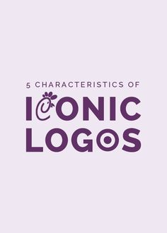 """While a logo is only one aspect of a brand, it has a large impact on the way a business is perceived; it's the face of a business, in a sense. And in an ever-growing design industry where everyone seems to be designing logos, it's easy to lose track of what makes a good logo in the first place. In the words of logo expert and author David Airey, """"Anyone can design a logo, but not everyone can design the right logo."""" So today I'm taking it back to the basics. Here are 5 characteristics ..."""