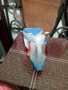 #Recicla #Recycle #Vespa #plastico