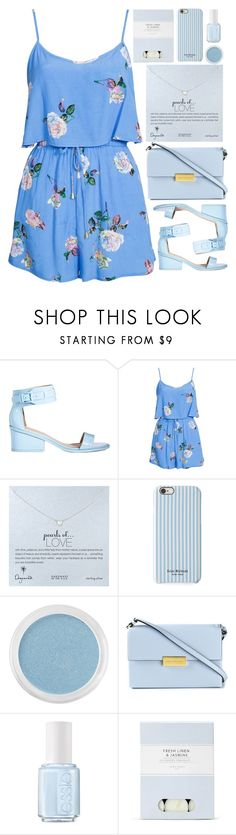 """Blue"" by annaclaraalvez ❤ liked on Polyvore featuring ASOS, MINKPINK, Dogeared, Isaac Mizrahi, Bare Escentuals, STELLA McCARTNEY, Essie and Laura Ashley"