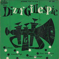 45cat - Dizzy Gillespie - Dizzy Gillespie Plays - Royale - USA