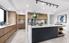 The Berkshire Design Represents Spacious Living - Metricon Home Decor Kitchen, Kitchen Living, Interior Design Kitchen, Luxury Kitchens, Home Kitchens, Kitchen Colour Schemes, Kitchen Benches, Decoration Inspiration, Contemporary Kitchen Design