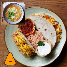 #Taco Platter #Soup #MeniulZilei