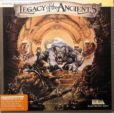 Legacy of the Ancients, Classic CRPG by EA, Commodore 64