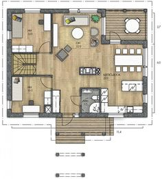 Sims 4 Houses, Future House, House Plans, Floor Plans, Windows, Flooring, How To Plan, Architecture, Layouts