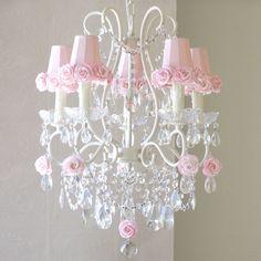 Ροζ πολυέλαιος Αποχρώσεις Φωτογραφία - 1