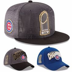 2016 World Series Champions Champs Chicago Cubs Baseball Men S Cap Free Shipping #Unbranded #Champions