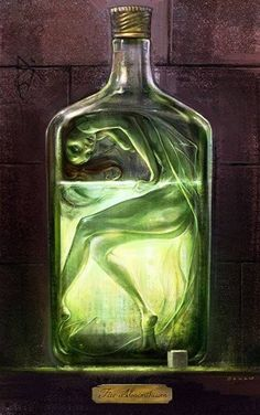 Absinthe makes the heart grow fonder. No it doesn't. It just gets you drunk like the other liquors! LoL!