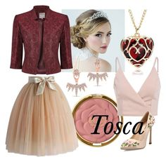 Tosca by operawithpearls on Polyvore featuring mode, Phase Eight, Chicwish, Giambattista Valli and Milani