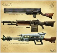 Anthony: i like the idea of weapons being implemented in the game, these gun designs are really good
