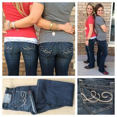 Our latest ladies #denim The Lakin, is the perfect dark wash for #fall! #fallfashion #bluejeans #sothread #atx — at Southern Thread @ The Domain.